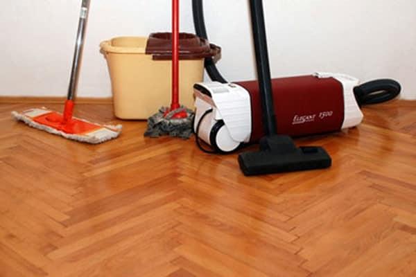 راه های ممکن تمیزسازی کفپوش چوبی