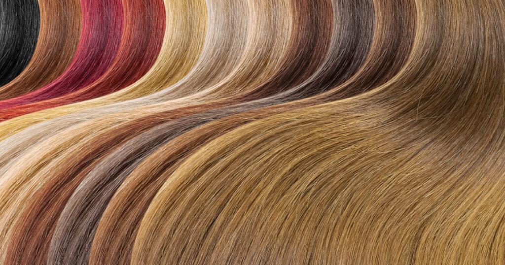 رنگ های مو