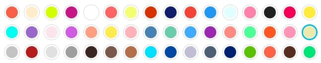 تنوع رنگی بالا عروسک اختاپوس