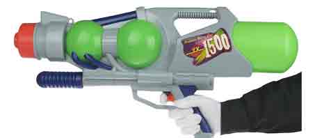 تفنگ آبپاش اسباب بازی باحال