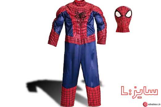 عکس مرد عنکبوتی اسباب بازی ست ایفای نقش
