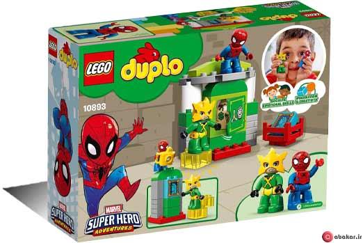 لگو سری Duplo مدل 10893 Spider-Man vs Electro