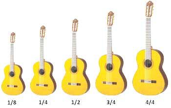 گیتار اسباب بازی پسرانه- راهنمای اندازه ها