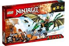 خرید اسباب بازی لگو نینجاگو مدل اژدها