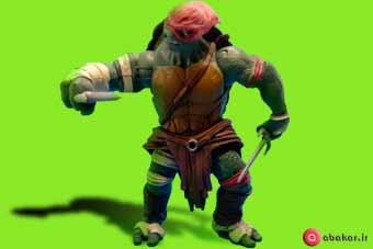 اسباب بازی اکشن فیگور طرح لاکپشت های نینجا مدل رافائل