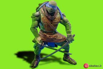 اسباب بازی لاکپشت های نینجا مدل لئوناردو