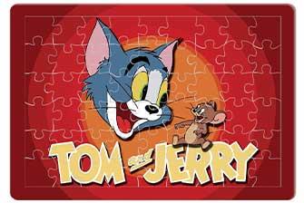 اسباب بازی تام و جری مدل پازل