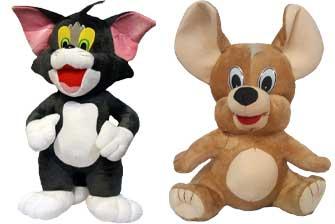 اسباب بازی تام و جری مدل عروسک