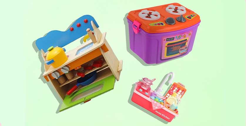 بهترین اسباب بازی های دخترانه اجاق گاز