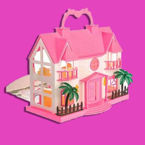 عکس اسباب بازی مدل خانه عروسکی