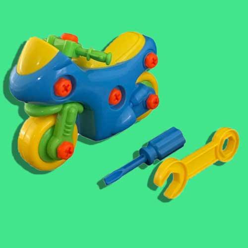 عکس اسباب بازی مدل ساختنی موتور