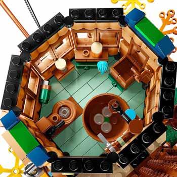 تصویر اسباب بازی ساختنی خانه جنگلی
