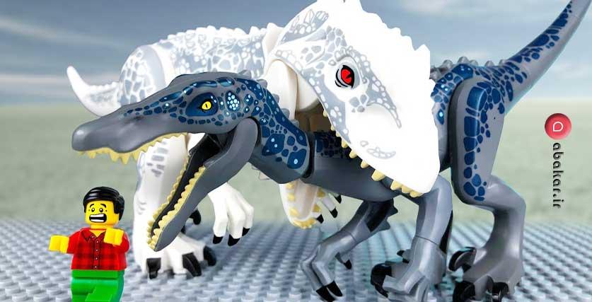 خرید لگو دایناسور اصل