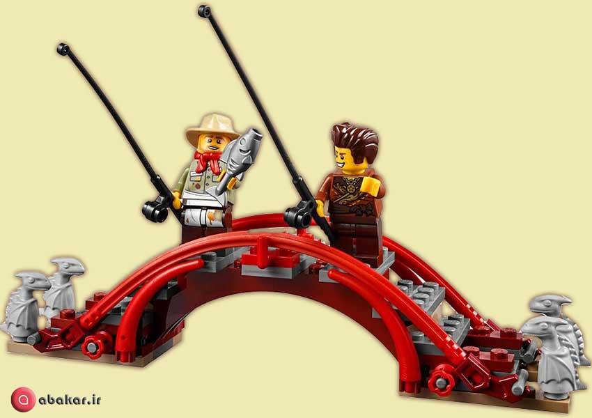 لگو نینجا اسباب بازی مدل پل
