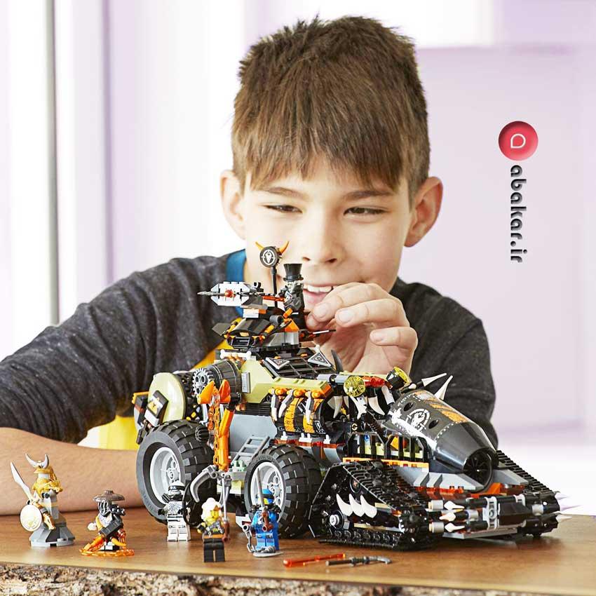 لگو نینجا اسباب بازی مدل Dieselnaut 70654