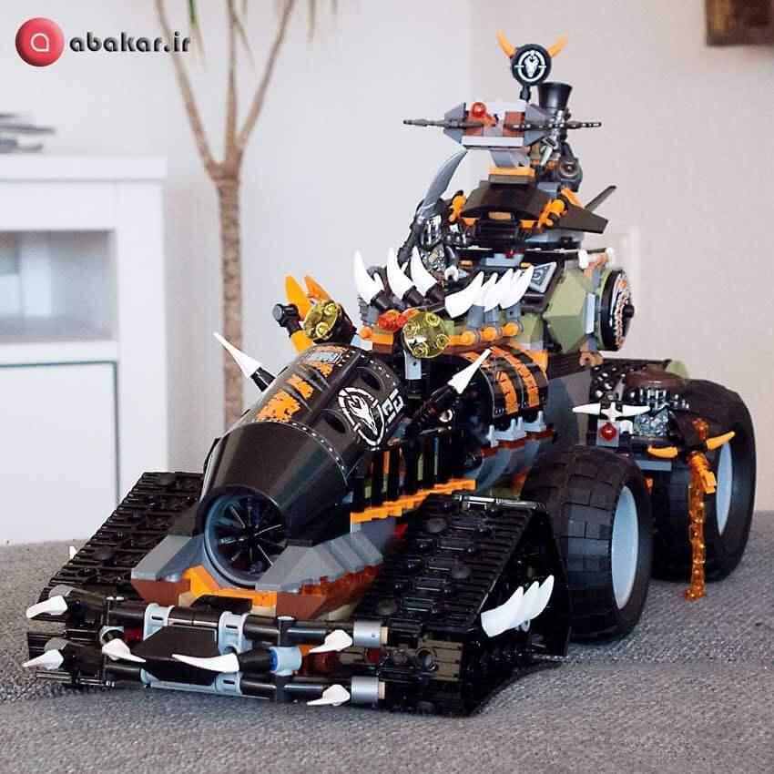 لگو نینجا اسباب بازی مدل ماشین خیلی خفن