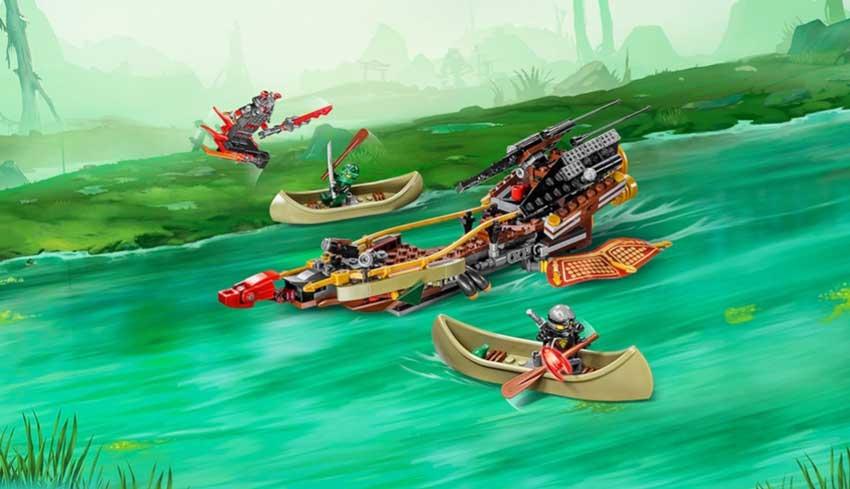 لگو سری Ninjago مدل Destinys Shadow 70623