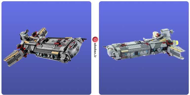 تصاویر مربوط به سفینه بزرگ فضایی مدل 75158