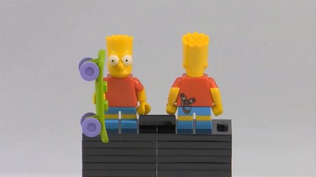 آدمک لگویی سیمپسون ها