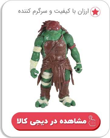 اکشن فیگور طرح لاکپشت های نینجا کد 0209
