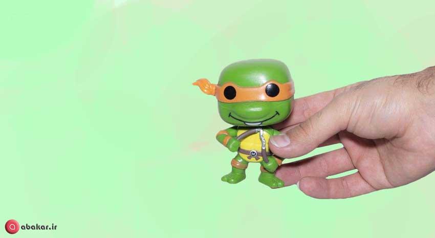 اکشن فیگور مدل Ninja Turtles بسته 4 عددی