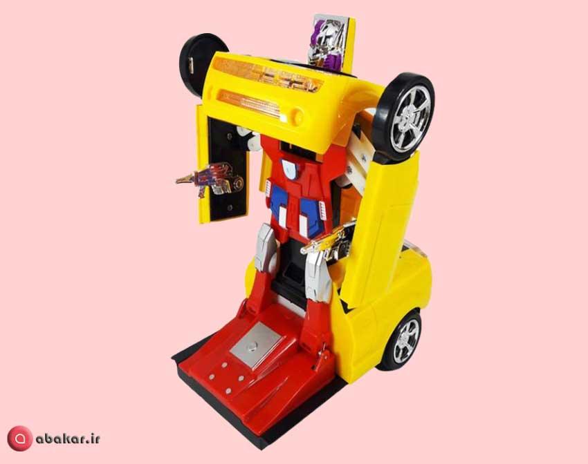 تصویر اتوموبیل بازی تبدیل شونده مدل FW-338A
