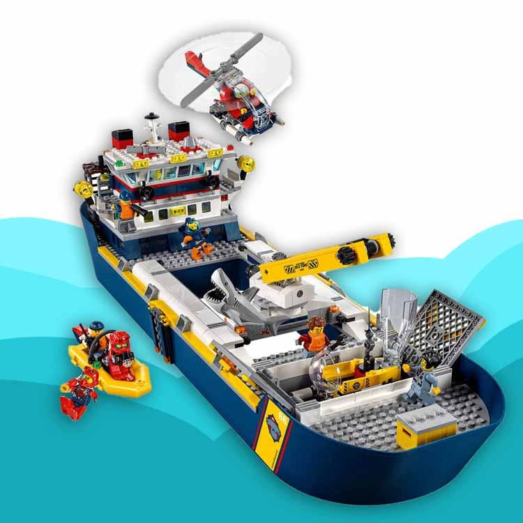 خرید لگو سیتی مدل کشتی