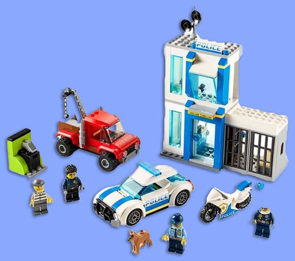 خرید لگو شهری مدل پایگاه پلیس