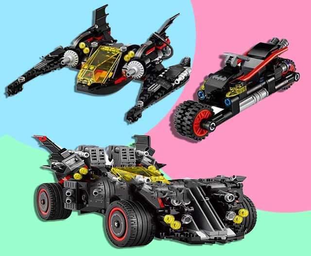 batman lego model king 87045