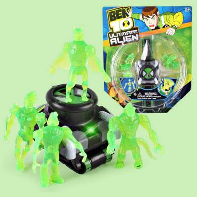 ست ساعت اسباب بازی مدل بن تن طرح Puzzle Alien