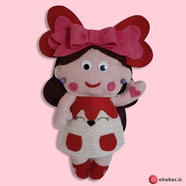 عروسک نمدی دخترانه