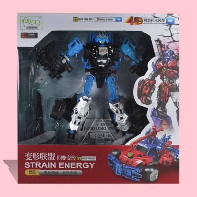 ربات مبدل رنگ آبی