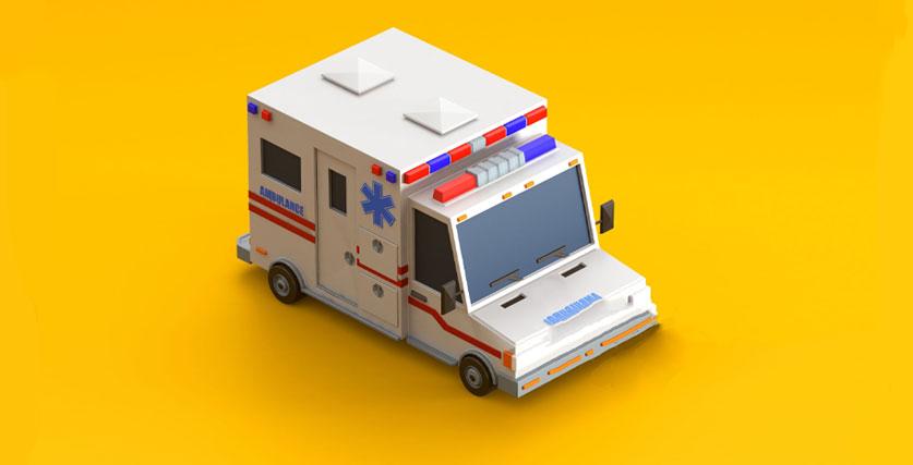 آمبولانس اسباب بازی